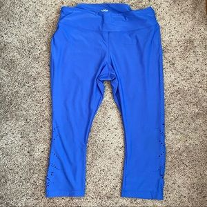 Maurices Capri Active Legging with Cutout Detail